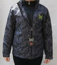 TAPOUT PRINTED PADDED WINTER SNOW JACKET JUNIOR BOYS -  BLACK AOP RRP £56