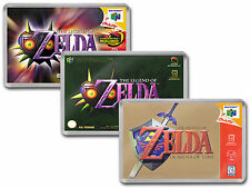 THE LEGEND OF ZELDA OCARINA & MAJORAS Nintendo 64 N64 Cover Art Fridge Magnet