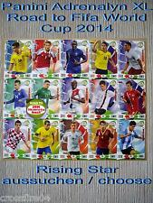 Panini Adrenalyn Road to World Cup 2014 Brazil  Rising Star aussuchen / choose