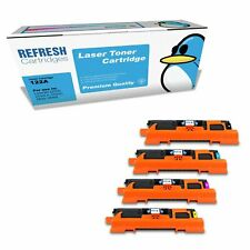 REFRESH CARTRIDGES Q3960A Q3961A Q3962A Q3963A Q3964A TONER COMPATIBLE WITH HP
