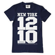 Technics / DMC T-Shirt New York 1210 Navy Blue Blau (Size S-XXL) T093N NEU+OVP!