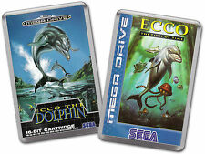 ECCO THE DOLPHIN 1 & 2 TIDES OF TIME Sega Megadrive Game Cover Art Fridge Magnet