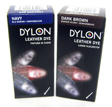 Dylon leather shoe dye   2 colours available