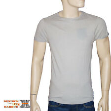 SCOTCH AND SODA t shirt TEE FANCY SPRAYED gris homme