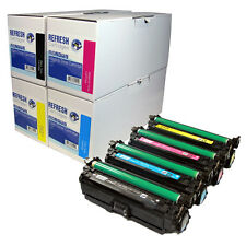 REMANUFACTURED HP 507A / CE400X CE401A CE402A CE403A LASERJET TONER CARTRIDGES