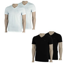 JOOP! 2er Pack V-Neck T-Shirts NEU TEE WEIß SCHWARZ T Shirt twin-pack S M L XL