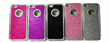 Luxury Crystal Diamonte Diamond Glitter Bling Hard Case For iPhone 4 4S 5 5s