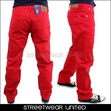 L-R-G Heartwood TS Chino LRG Trousers Jeans Red
