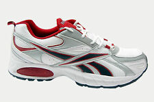 REEBOK BRANDED SPORT SHOE IN WHITE SILVER RED COLORS MRP 3299 15% DISCOUNT 2800