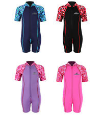Lycra Armed Patterns Baby Kids Toddler Wetsuit by Two Bare Feet