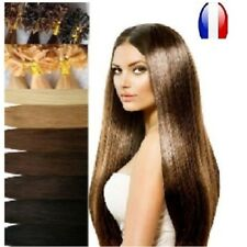 50 100 150 EXTENSIONS FROID EASY LOOPS 100% CHEVEUX NATURELS REMY HAIR 49-60 CM