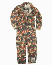Swiss army surplus alpenflage tank crew overalls coveralls