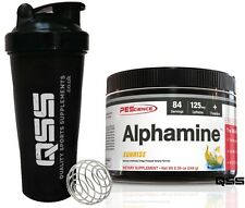 PES ALPHAMINE 84 SERVINGS  PHYSIQUE ENHANCING SCIENCE THERMOGENIC FAT BURNER