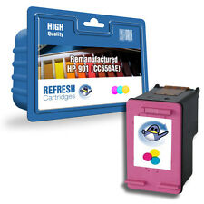 1 COLOUR REMANUFACTURED HP OFFICEJET HIGH CAPACITY INK CARTRIDGE CC656AE/HP 901