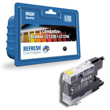 REFRESH CARTRIDGES BLACK LC1220 / LC1240 INK COMPATIBLE WITH BROTHER PRINTERS