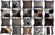 NEW Chocolate Collection Various Beautiful Designs Luxury Quality Cushion Covers