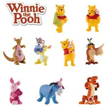 BULLYLAND DISNEY WINNIE THE POOH FIGURES - Choice of 9 - Great cake toppers