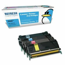 REMANUFACTURED LEXMARK C522 LASER PRINTER TONER CARTRIDGE SINGLE OR MULTIPACK