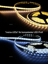 Ultra heller LED Strip Warmweiß Kaltweiß  Band Leiste 24V 18-20 Lumen/LED CRI 80