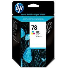 GENUINE OEM HP 78 / C6578A COLOUR PRINTER INK CARTRIDGE HEWLETT PACKARD