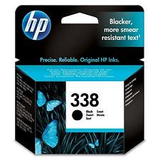 GENUINE OEM HP 338 HEWLETT PACKARD BLACK PRINTER INK CARTRIDGE (C8765EE)