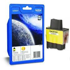GENUINE OEM BROTHER LC900Y YELLOW PRINTER INK CARTRIDGE (LC900, LC-900)