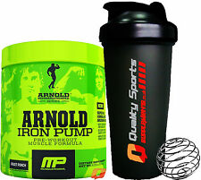 MP MUSCLEPHARM ARNOLD SCHWARZENEGGER  IRON PUMP PRE WORKOUT POWDER 30 SERVINGS
