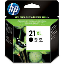 HP HEWLETT PACKARD ORIGINAL HIGH CAPACITY BLACK INK CARTRIDGE HP 21XL (C9351CE)