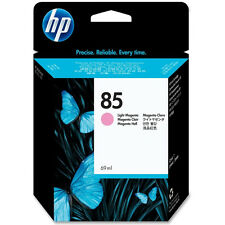 GENUINE OEM HP HEWLETT PACKARD HIGH CAPACITY LIGHT MAGENTA HP85 INK CARTRIDGE