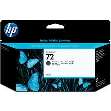 GENUINE OEM HP DESIGNJET HIGH CAPACITY MATTE BLACK INK CARTRIDGE - HP 72 /C9403A