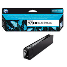 GENUINE HP HEWLETT PACKARD OFFICEJET PRO HP 970 BLACK INK CARTRIDGE (CN621AE)