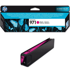 GENUINE HP HEWLETT PACKARD OFFICEJET PRO HP 971 MAGENTA INK CARTRIDGE (CN623AE)