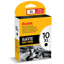 GENUINE ORIGINAL KODAK 10B / 10XL HIGH CAPACITY BLACK INK CARTRIDGE (3949922)