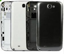For Samsung Galaxy Note 2 N7100 Full Body housing Chrome+Back cover case panel