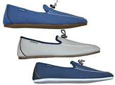 MENS NICHOLAS DEAKINS CHIMP CANVAS SUMMER LOAFERS ALL SIZES 6 TO 11