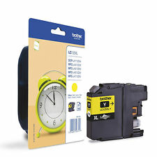 GENUINE OEM YELLOW HIGH CAPACITY BROTHER INK CARTRIDGE LC125XL / LC125XLY