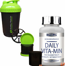 SCITEC NUTRITION DAILY VITA-MIN  VITAMINS & MINERLAS FORMULA ONE-A-DAY TABLETS