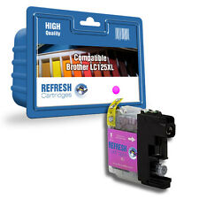 COMPATIBLE BROTHER MFC DCP MAGENTA HIGH CAPACITY INK CARTRIDGE LC125XL / LC127XL