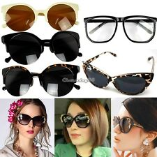 Vintage Retro Fashion Shades Oversized Womens Mens Unisex Designer Sunglasses