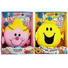 Mr Men Mr Happy Little Miss Princess Soft Cuddly Toy Draw Doddle Scribble me
