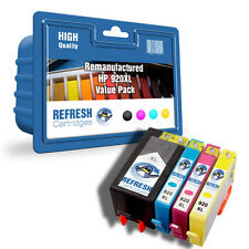 REMAUNFACTURED HP 920XL HEWLETT PACKARD - 4 INK CARTRIDGE EVERYDAY VALUE PACK