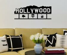 Hollywood Kino Wandtattoo Wandaufkleber Kamera Wand Sticker Film Aufkleber 5S052