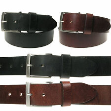 Vitali Luxury 40mm Leather Mens Italian Leather Jeans Belt Made in Italy 3911
