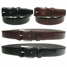 Vitali Designer Mens Italian Leather Trouser Suit Belt 35mm Made in Italy 3915