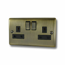 Antique Brass Sockets and Switches