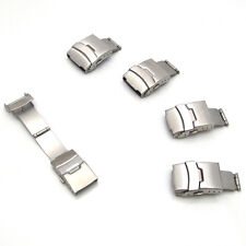 Deployment Buckle WATCH CLASP Strap Band Bracelet 16mm 18mm 20mm 22mm 24mm S32