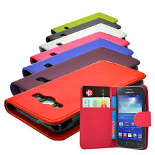 For Samsung Galaxy Ace 3 S7270 S7272 S7275 New 7 colour Wallet Flip Case Cover