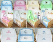 Baby Bettset - Bett 70x140  Applikation , Himmel, Bettwäsche , Nestchen