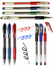 Gel Pens Pilot G1 Pilot G2 Black Blue Red Rollerball Gel Pen Choice of Quantity!