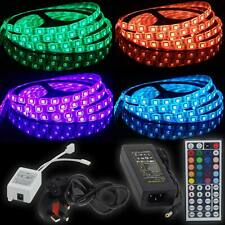 Waterproof 5050/3528 RGB SMD 150/300/600 LED 5M/10M LED Flexible Strip Light UK